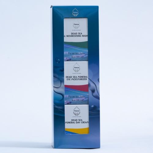 עיצוב אריזות למוצרי טיפוח של ים המלח