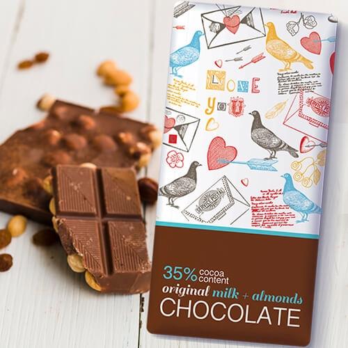 שוקולד שקדים